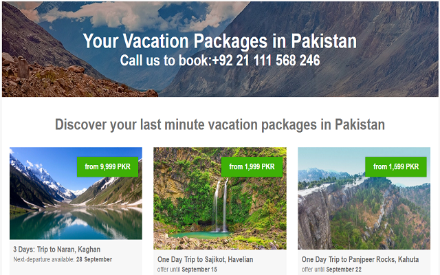 Javago Pakistan Offering Travelers From Years with Good Discounts