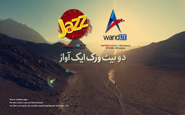 Jazz-Warid New TVC Features Fahad Mustafa to Celebrate the Family of 52+ Mn Customers