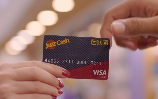 JazzCash Mobile Account Now Comes With Visa Debit Card