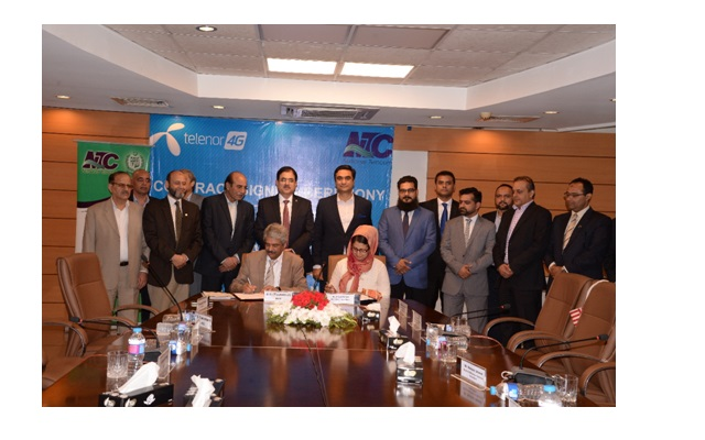 NTC Inked Agreement with Telenor