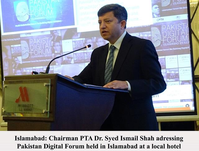"PTA Organized ""Pakistan Digital Forum"""