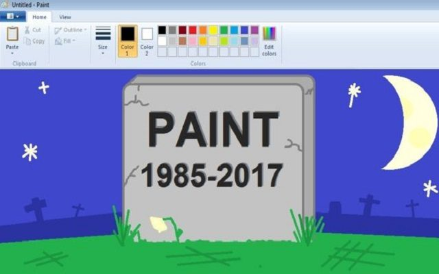 RIP to Everyone's Favorite Childhood Graphics Program 'Paint' as Microsoft Signals End of Paint Program