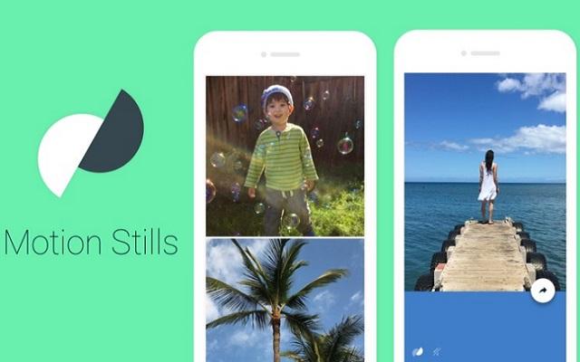 Google Motion Stills App