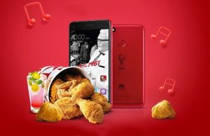 KFC Launches Limited Edition Huawei Smartphone