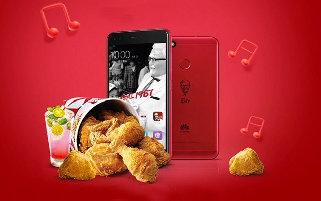 KFC-branded Huawei smartphones hits shelves in China