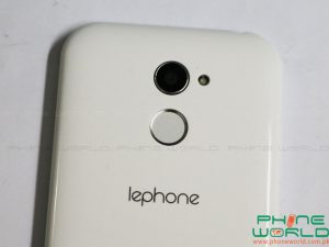 lephone w11 back camera lens fingerprint