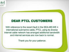 PTCL Offers Extra Speed as Apology