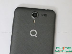 qmobile lt600 pro back camera lens flash light
