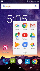 qmobile qnote interface display results