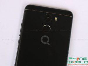 qmobile noir x1s back camera flash light