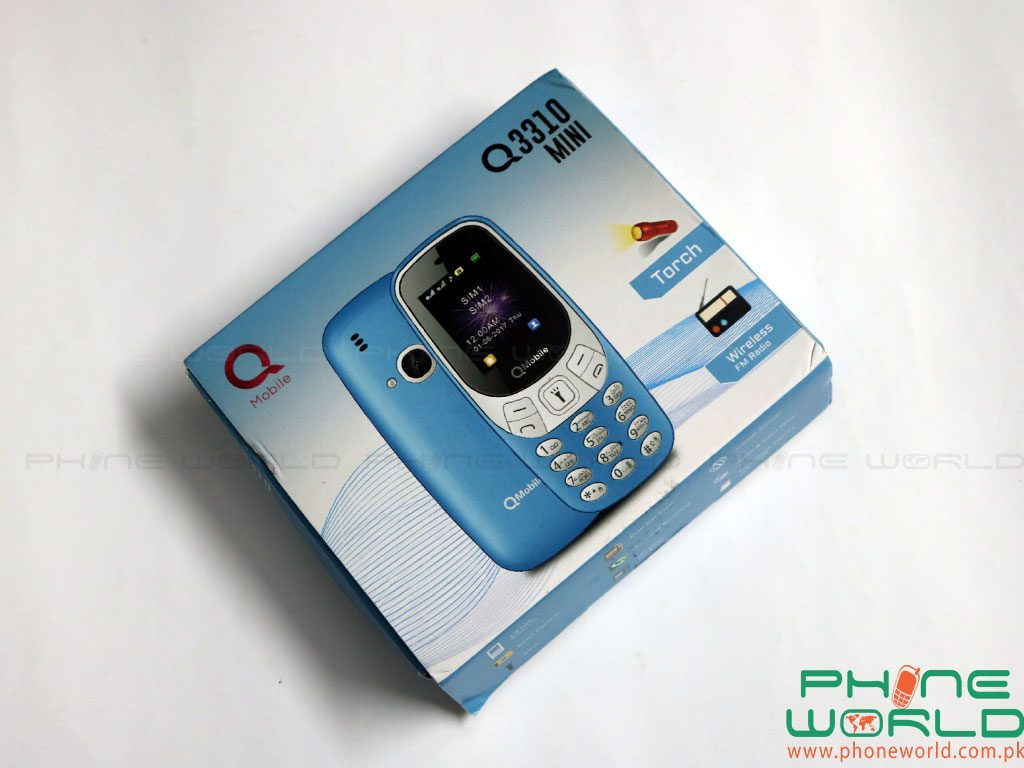 QMobile Launches Q3310 Mini in Rs.2999/-