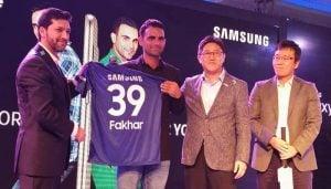 Fakhar Zaman Becomes the Brand Ambassador of Samsung Galaxy J7 Core