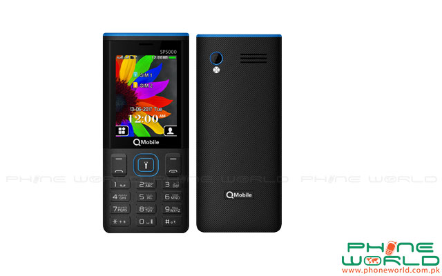 QMobile Launches Super Phone SP5000 with Powerful Battery at Rs.3250/-