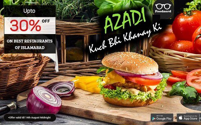 Foodnerd.pk Special Discount Offer