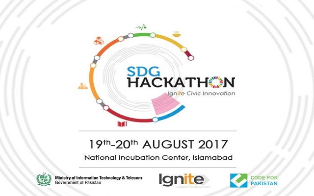 Ignite & Code for Pakistan to Organize SDG Hackathon on 19th August, 2017
