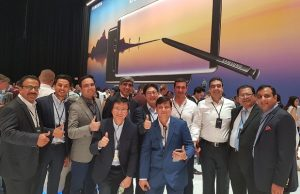 Airlink and M&P Attend Galaxy Note 8 Launch Event