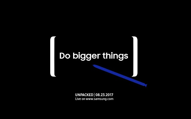 Watch the Live Stream of Most Awaited Samsung Galaxy Note 8 Today at300 PM