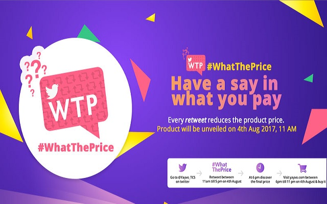 Yayvo.com Launches #WhatThePrice Campaign for Twitter Users