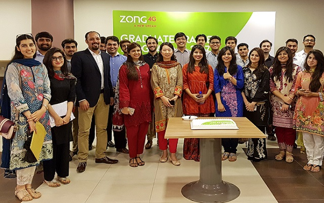 Leaders of Tomorrow: Young Graduates Successfully Inducted in Zong 4G's GTO Programme