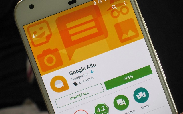 Google Allo is finally available on the web… sort of