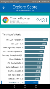 huawei y7 prime vellamo scores and comparison