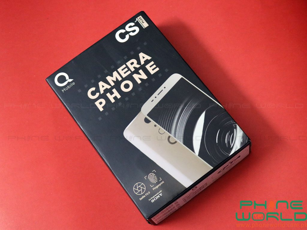 QMobile CS1 Plus Retail box