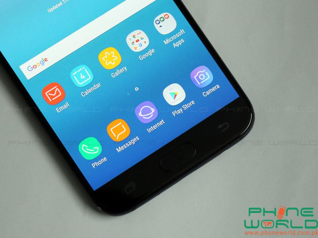 Samsung Galaxy J5 Pro Fingerpint Sensor Functional Keys