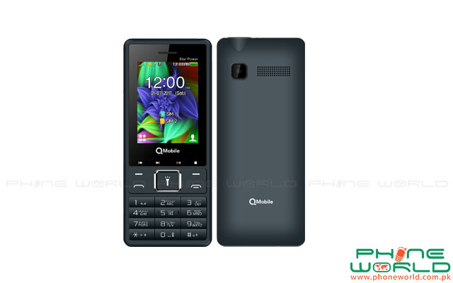 QMobile Super Star Power with Powerful Features in Rs.2699/-
