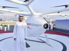 Dubai Tests Flying Taxi to Stop the Road Rage in the City