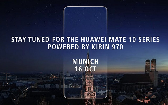 Images of Huawei's new Mate 10 Pro smartphone leaked