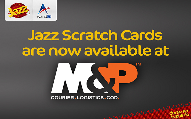 Now Buy Jazz Scratch Cards from M&P Logistics Centers