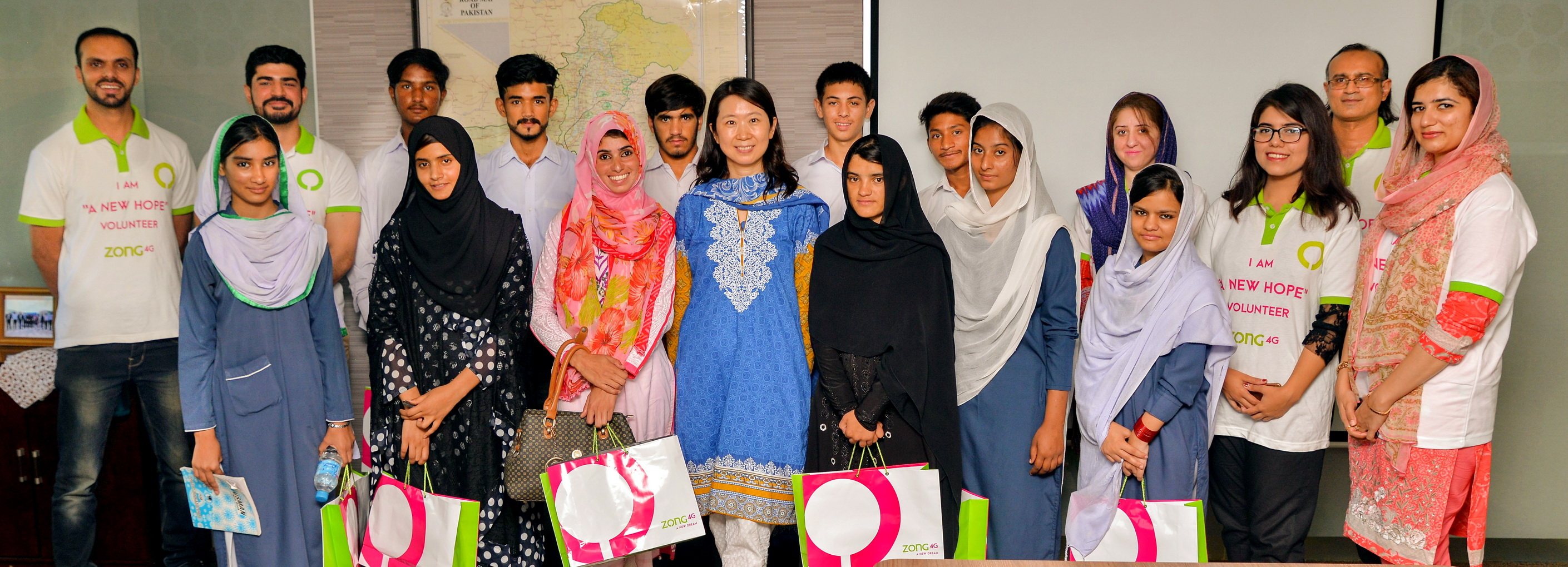 Zong 4G Invites Underprivileged Students at its HQ