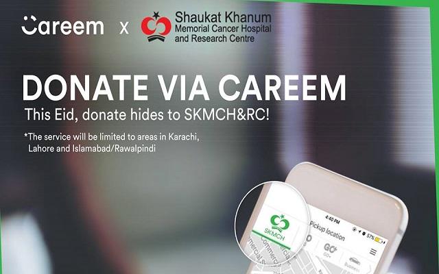 This Eid Donate Hides of Qurbani Animals to SKMCH&RC Via Careem