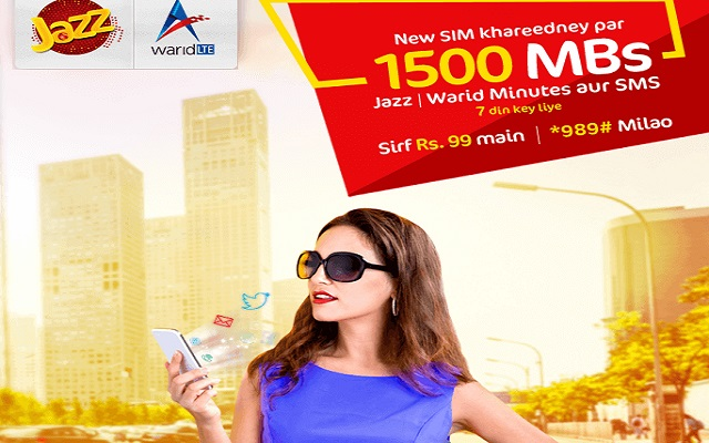 Jazz Introduces New SIM Offer for Prepaid Customers