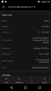 nokia 2 antutu scores and comparison