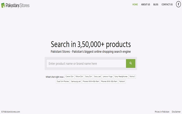 Pakistanistore.com: Facilitating Pakistani Consumers With Product Search Services