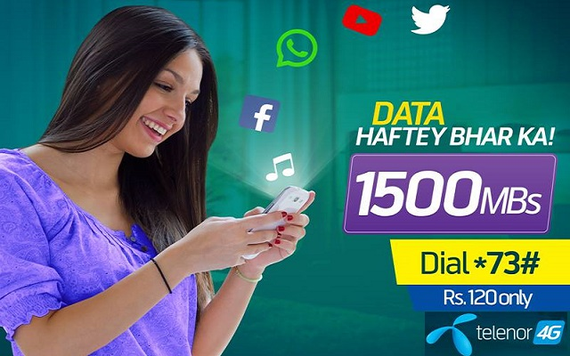 Telenor Introduces Weekly Plus Bundle in Just Rs. 120