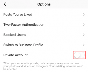 Here's How to Make Your Instagram Account Private