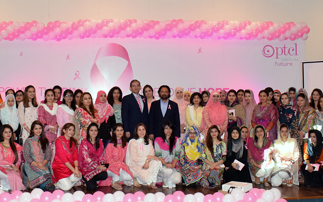 PTCL Organizes Breast Cancer Awareness Drive in Collaboration with Pink Ribbon