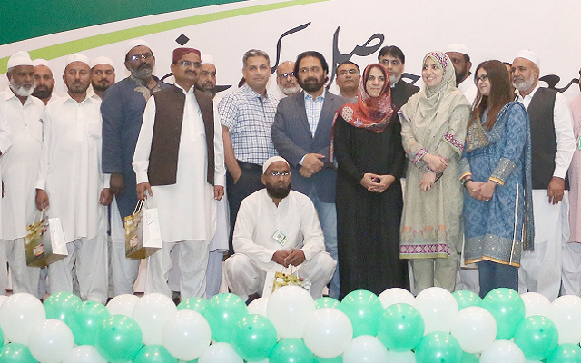 PTCL Honours its Returning Hajjis