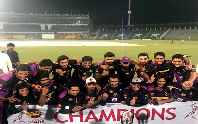 Team Sargodha Wins the Jazz Rising Stars T20 Cup 2017