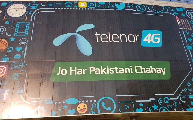 Telenor Pakistan to Convert 75% Network to 4G by Adding a Site Every Hour