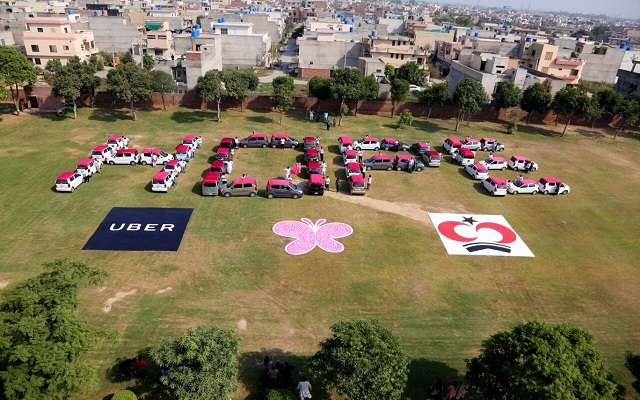 Uber Pakistan signed MOU with Shaukat Khanum Cancer Hospital & Research Centre