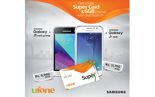 Ufone and Samsung Partner to Launch an Exciting Handset Bundle Offer