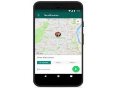 WhatsApp Offers Live Location Sharing
