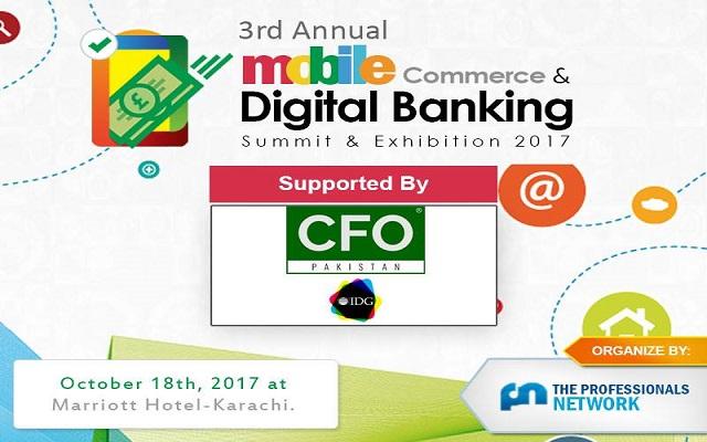 3rd Mobile Commerce & Digital Banking Summit held in Karachi