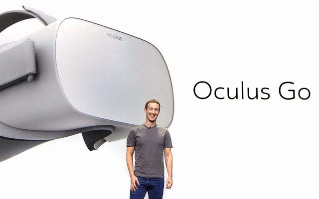 Mark Zuckerberg Announces Standalone VR Headset Oculus Go