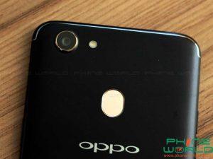 oppo f5 back camera flash light fingerprint sensor