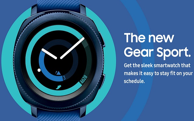 Samsung Gear Sport and Gear IconX 2018 Now Available for Pre-order