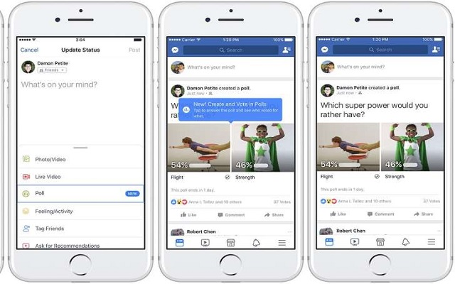 Facebook introduces GIF-Supported Polls Feature